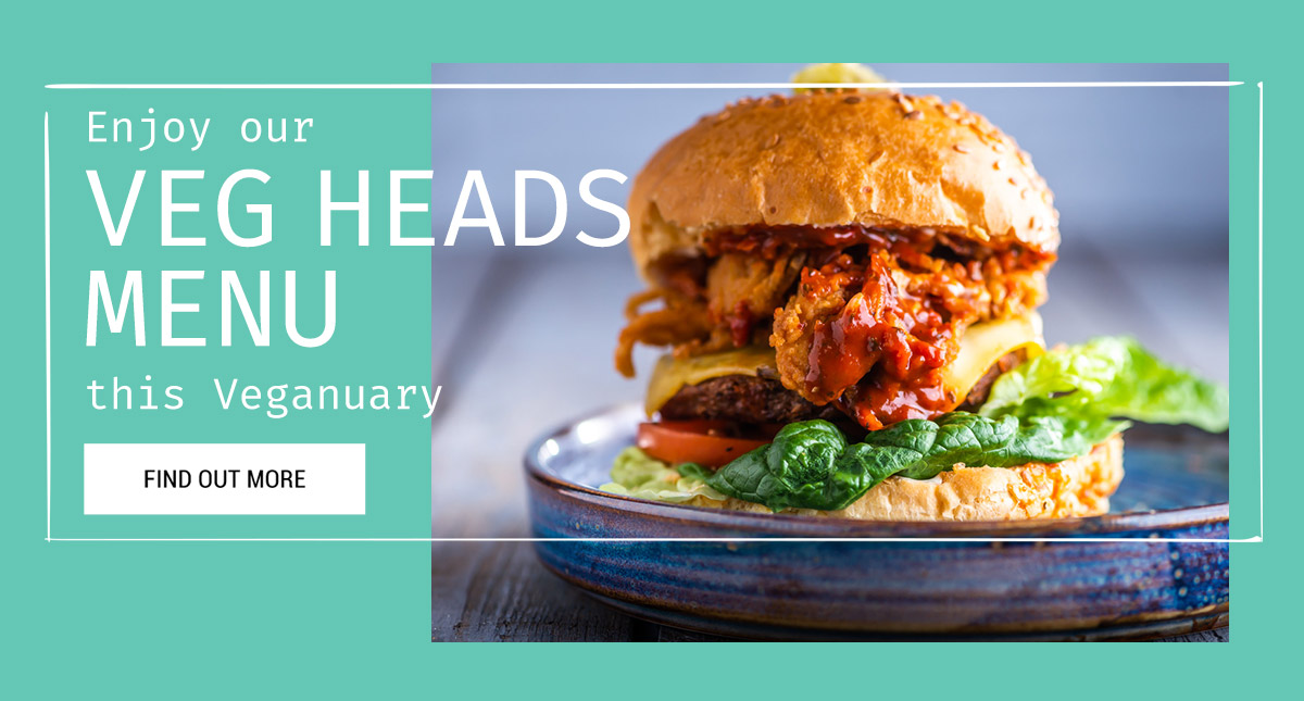 Veg Heads this Veganuary at The Jericho