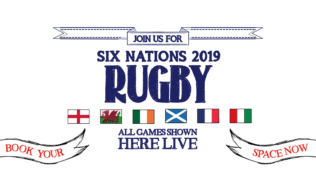 Watch the 6 Nations at The Jericho in Oxford