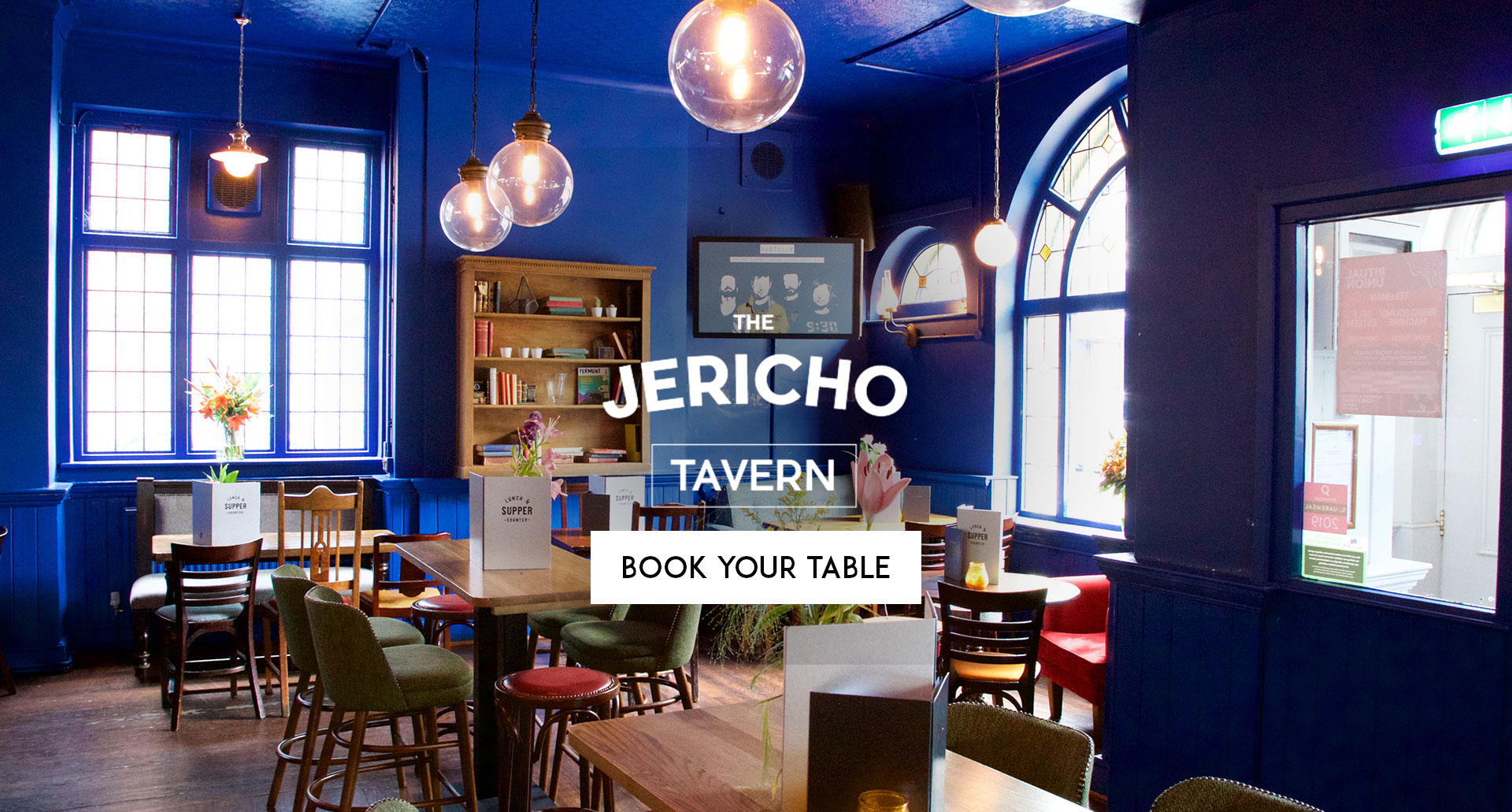 Book Your Table The Jericho